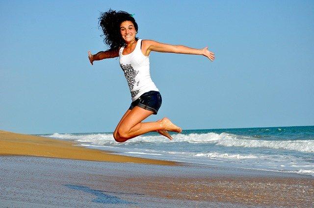 ריצה בשילוב קוסמטיקאית